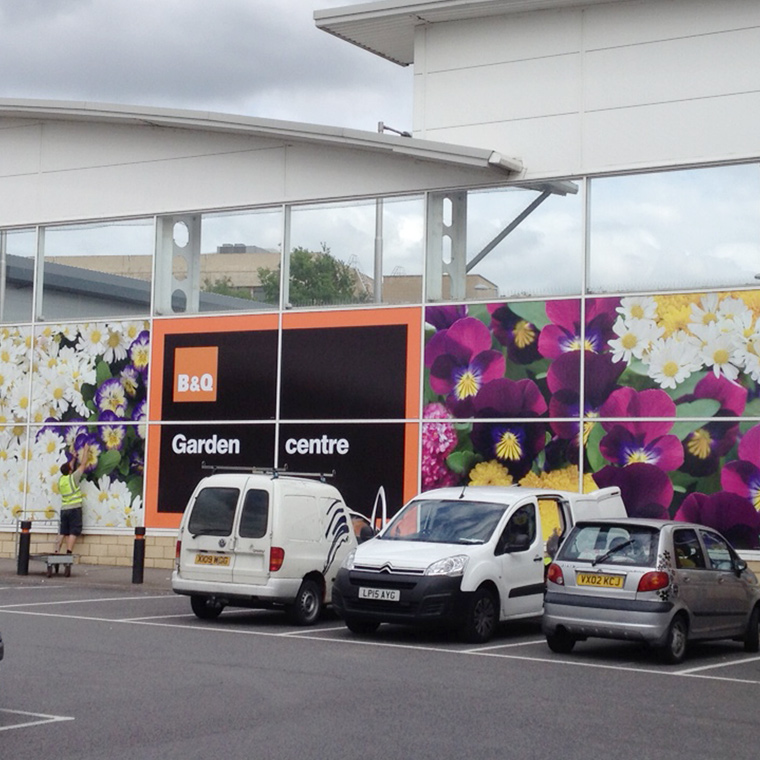 B&Q – Window Graphics