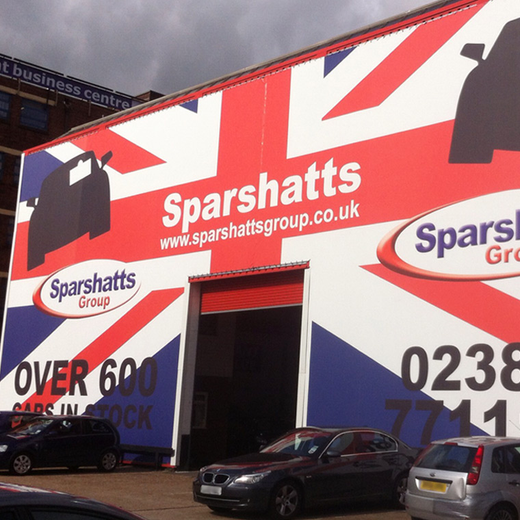 Sparshatts – Exterior Signage