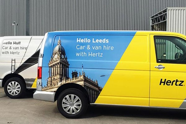 Hertz – Vehicle Livery